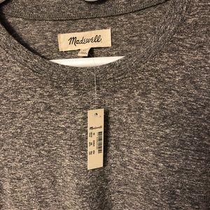 Madewell Heather Gray Lightweight Knit Top
